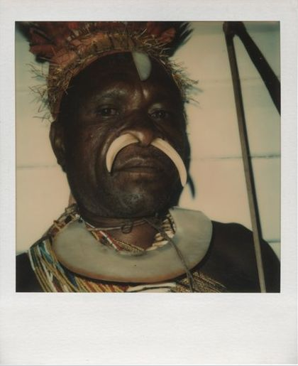 Kukukuku Man with Bow,© David Bailey