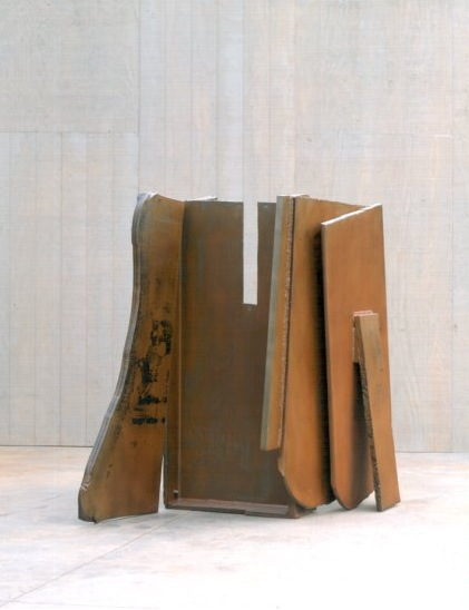 Fossil Flats (1974), Steel, rusted & varnished, 185.5 x 134.5 x 218.5cm