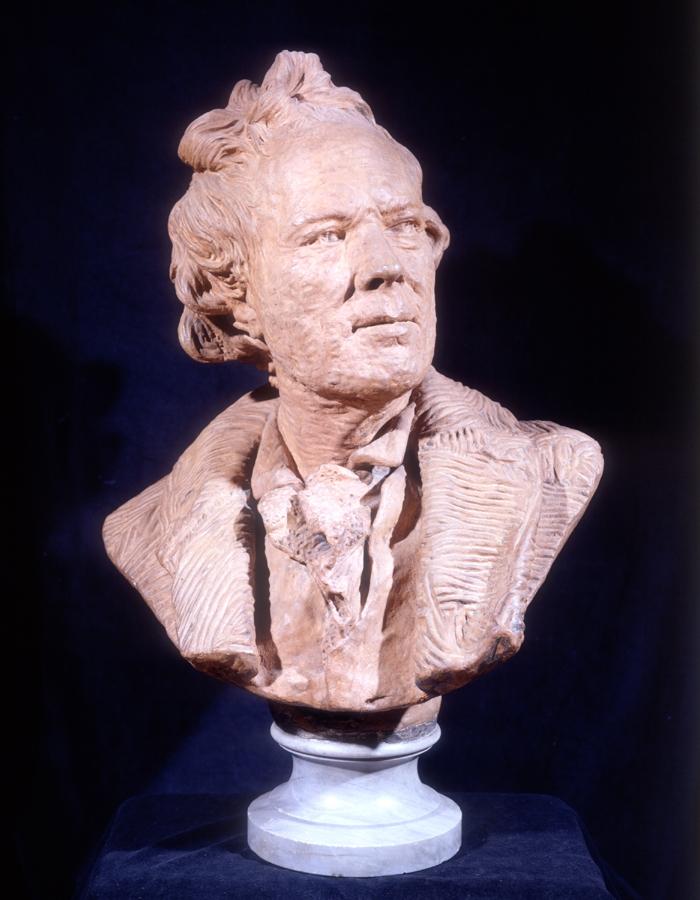 Studio Jean-Antoine Houdon, Portrait Bust of Christoph Willibald Von Gluck (1714-1787), c. 1770