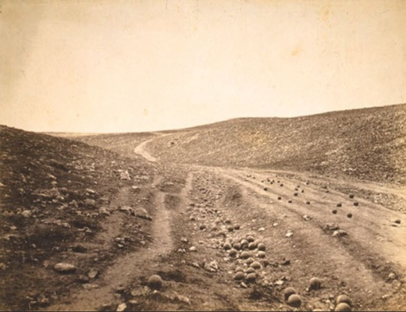 Roger Fenton - The Valley of the Shadow of Death, 1855