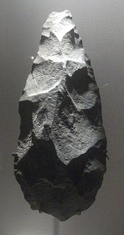 Handaxe from the Olduvai Gorge.