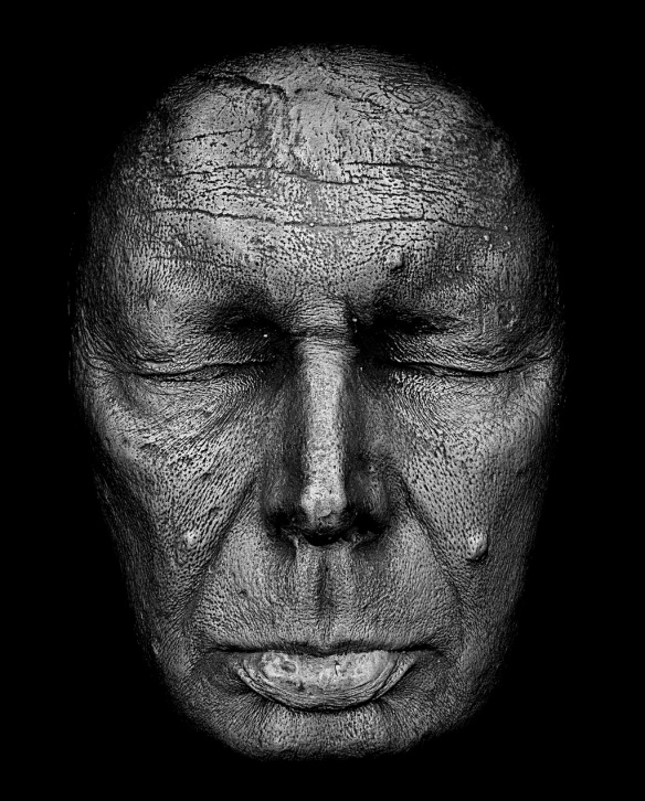 Rankin, Life Mask of Ian Rankin, 2013