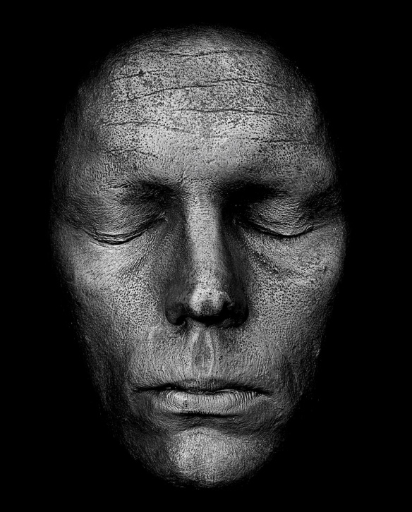 Rankin, Life Mask of Sam Clafin, 2013