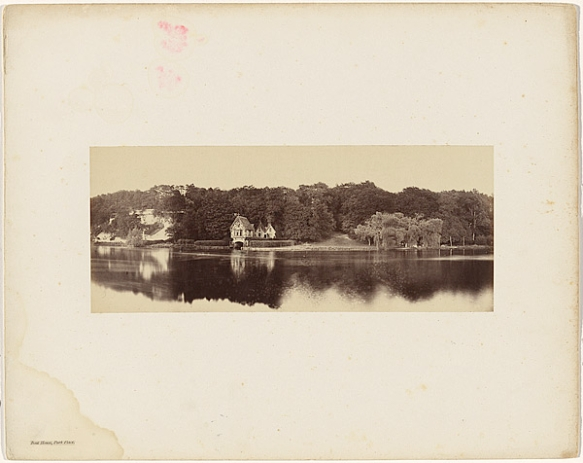 Victor Albert Prout. Boat House, Park Place, Before 1862. Courtesy Hulton Archive.