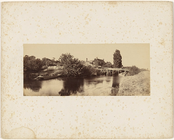 Victor Albert Prout. Day's Lock, Before 1862. courtesy Hulton Archive.