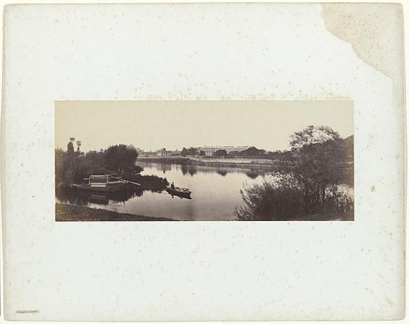 Victor Albert Prout. Hampton Court, Before 1862. Courtesy Hulton Archive.