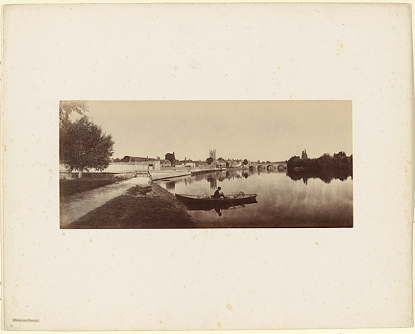 Victor Albert Prout Henley-on-Thames, Before 1862. Courtesy Hulton Archive.