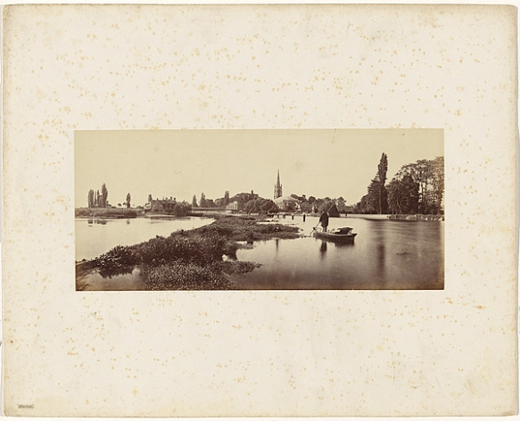 Victor Albert Prout. Marlow, Before 1862. Courtesy Hulton Archive.