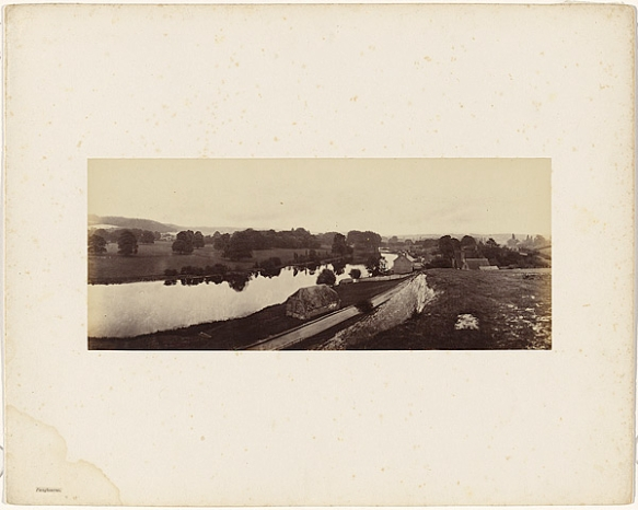 Victor Albert Prout. Pangbourne, Before 1862. Courtesy Hulton Archive.