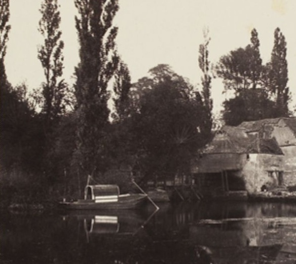 Victor Albert Prout. Iffley Mill (detail). Before 1862. Courtesy Hulton Archive.
