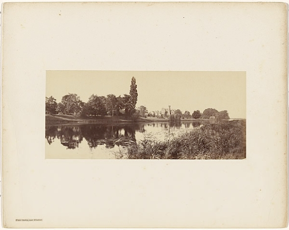 Victor Albert Prout. Water Oakley, Near Windsor, Before 1862. Courtesy Hulton Archive.