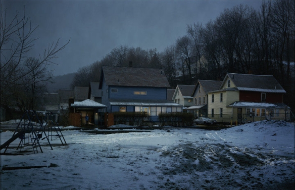 Gregory Crewdson, (Temple Street); Beneath the Roses, 2006.
