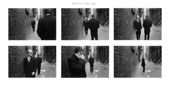 Duane Michals, Chance Meeting 1972