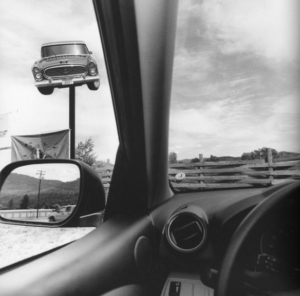 Lee Freidlander. Montana 2008. From America by Car