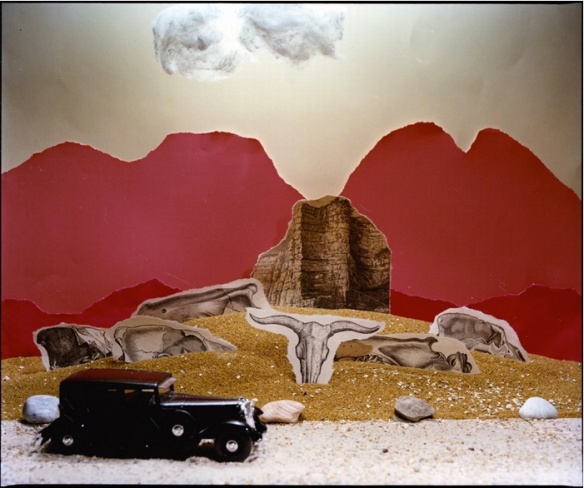 Mari Mahr, New Mexico 1931, From the Georgia O'Keeffe series (1982)