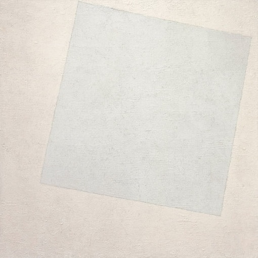 Kazimir Malevich Suprematist Composition - White on White, 1918