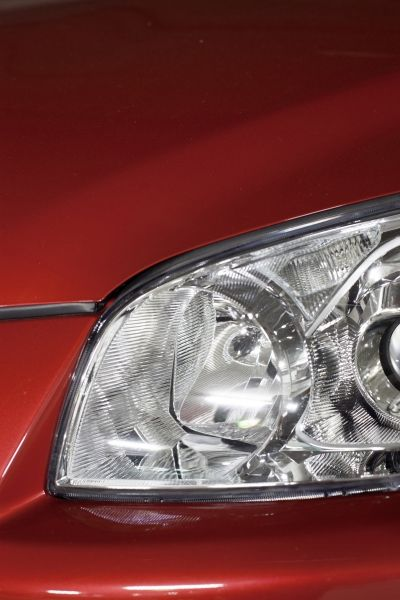 red headlight