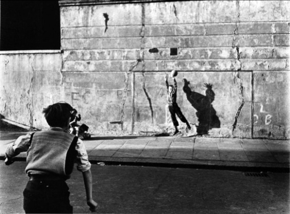 Footballer & Shadow 1956