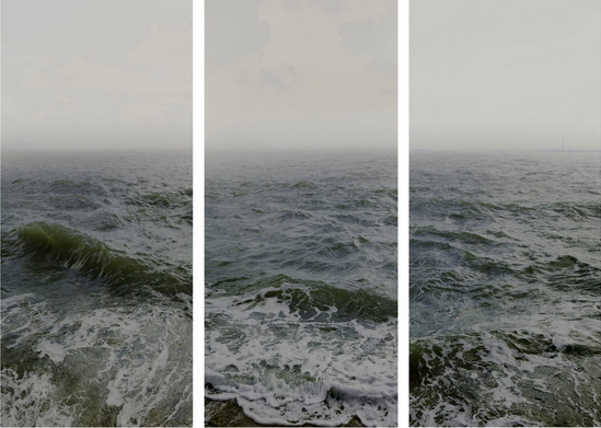 N. Kander triptych from the Dark Line