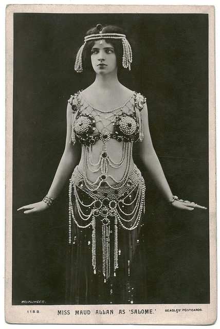 Maud Allan as Salome by Reutlinger