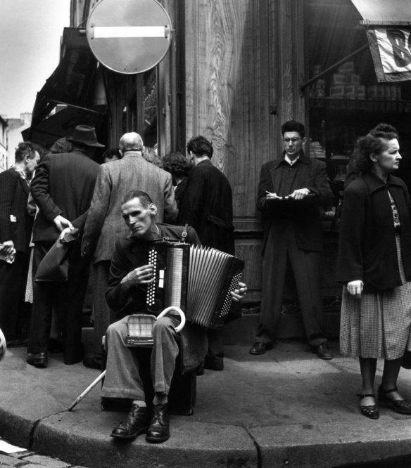 The Accordionist Rue Mouffetard