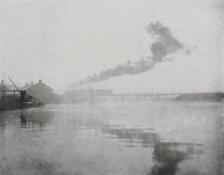 Emerson The Bridge publMarsh Leaves 1895
