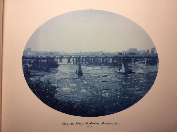 Henry Peter Bosse : Below the Falls of St. Anthony, Minneapolis, Minnesota, 1885