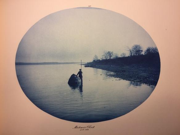Henry Peter Bosse : Mechanic's Rock, Low Water, 1889
