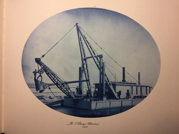 Henry Peter Bosse : US Dredge 'Phoenix' 1885