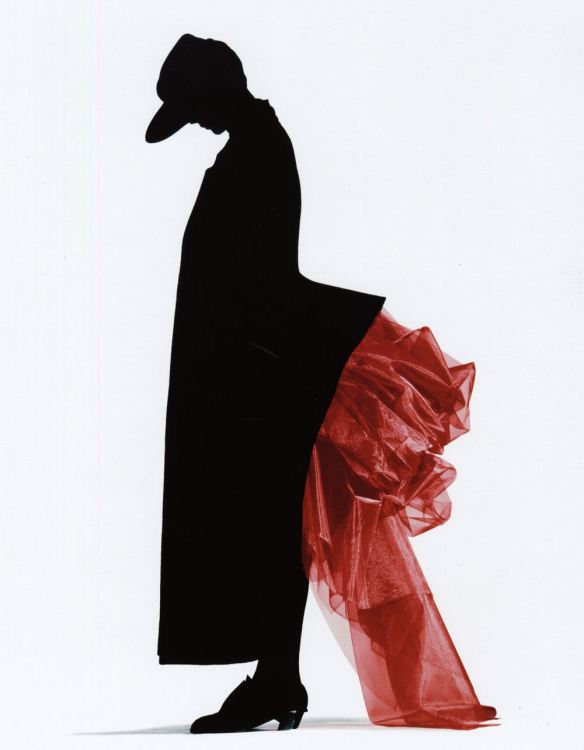 Nick Knight Red Bustle for Yohji Yamamoto 1986