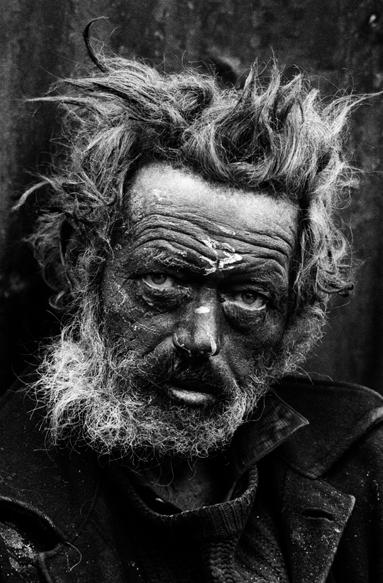 homeless irishman near spitalfields 1969