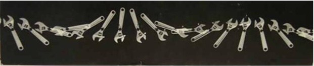 Berenice Abbott Loaded Swinging Wrench 1958