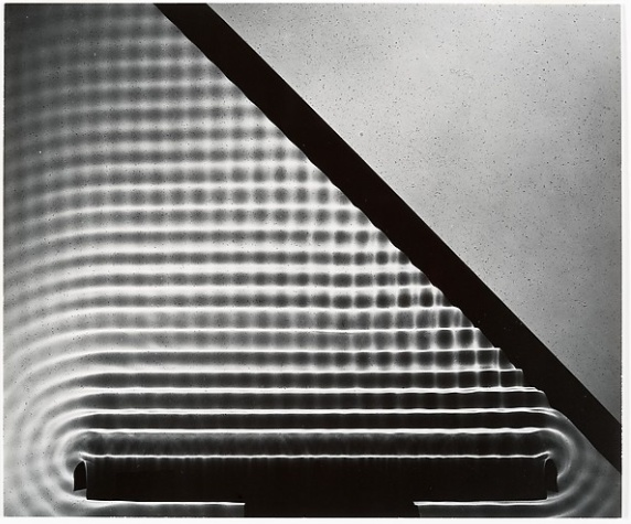 Berenice Abbott Wave Reflection 1950s