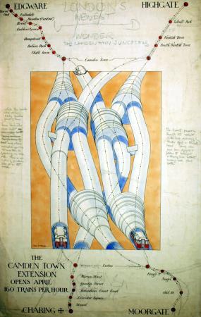 Charles W Baker 1924 artwork camden